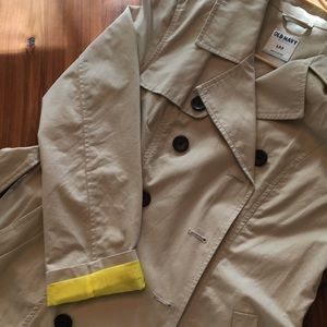 Old Navy double breasted tan jacket